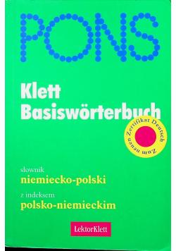 Klett Basisworterbuch słownik niemiecko polski polsko niemiecki