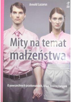 Mity na temat małżeństwa