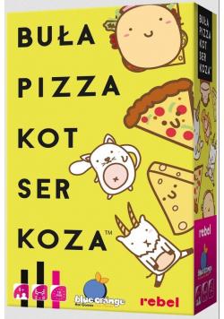 Buła, Pizza, Kot, Ser, Koza REBEL