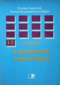 13 wykładów z geometrii wykreślnej