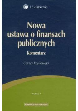 Nowa ustawa o finansach publicznych Komentarz