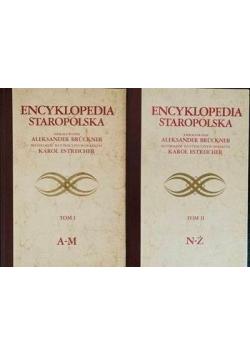 Encyklopedia Staropolska Tom 1 i 2 Reprint z około 1937 r