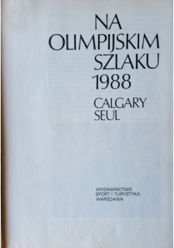 Na Olimpijskim Szlaku 1988