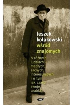 Leszek Kołakowski wśród znajomych