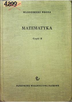 Matematyka część 2