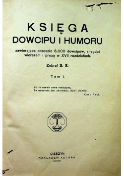 Księga Dowcipu i humoru tom I 1932 r.