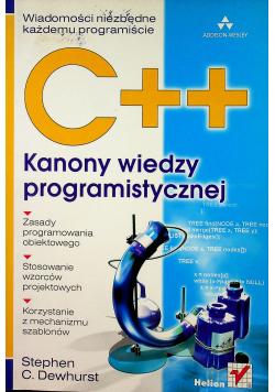 Kanony wiedzy programistycznej