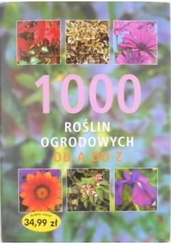 1000 roślin ozdobnych od A do Z