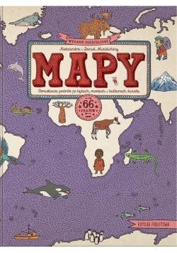 Mapy obrazkowa podróż po ladach morzach i kulturach świata