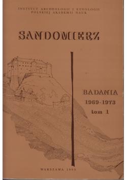 Sandomierz Badania 1969 1973 tom I