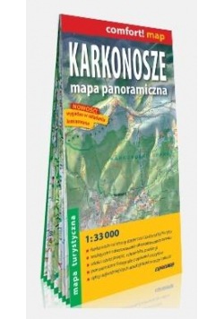 Comfort! map Karkonosze 1:33 000 mapa turystyczna