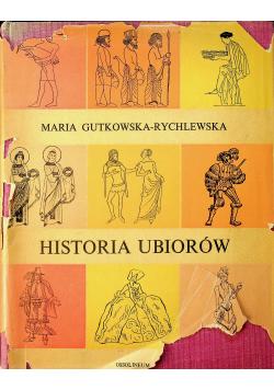 Historia ubiorów