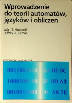Wprowadzenie do teorii automatów języków i obliczeń