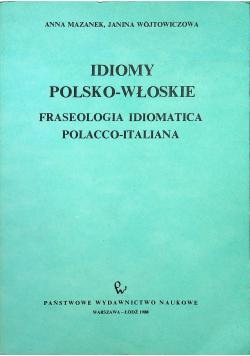 Idiomy polsko włoskie