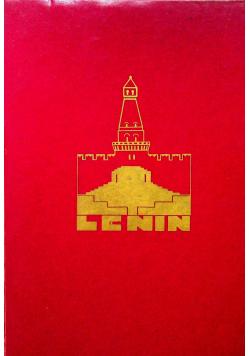Lenin Wydanie Trzecie Reprint z 1930 r.
