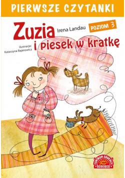 Pierwsze czytanki Zuzia i piesek w kratkę (poziom 3)