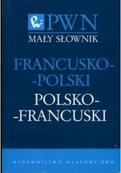 Mały słownik francusko polski polsko francuski NOWA