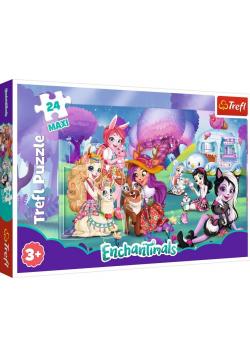 Puzzle 24 maxi Wesoły świat Enchantimals TREFL