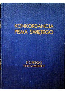 Konkordancje Pisma Świętego Nowego Testamentu