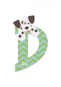 Litera D Dalmatian Zestaw zwierzęcy 12 sztuk