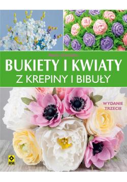 Bukiety i kwiaty z krepiny i bibuły w.3