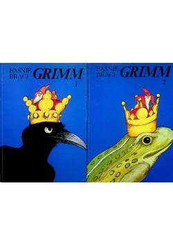 Baśnie braci Grimm 2 tomy