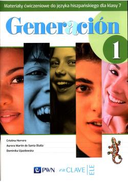 Generacion 1 Materiały ćwiczeniowe do języka hiszpańskiego dla klasy 7