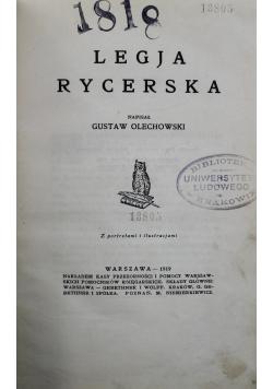Legja rycerska 1919 r.