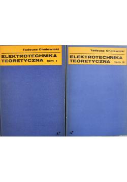 Elektrotechnika teoretyczna 2 tomy