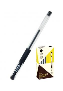Długopis żelowy GR-101 czarny (12szt) GRAND