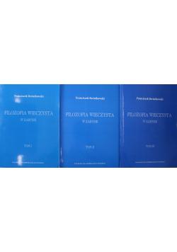 Filozofia wieczysta 3 Tomy reprinty 1947 r.