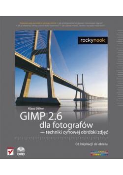 GIMP 2 6 dla fotografów techniki cyfrowej obróbki zdjęć plus DVD