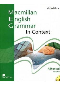 Macmillan English Grammar in Context Advanced + CD