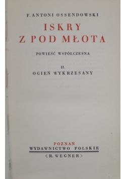 Iskry z pod młota tom II 1936 r.