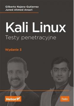 Kali Linux. Testy penetracyjne w.3