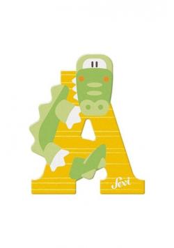 Litera A Alligator Zestaw zwierzęcy 12 sztuk
