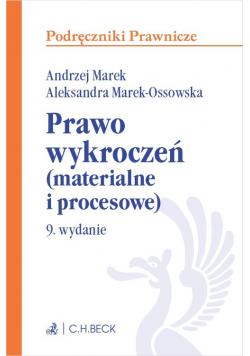 Prawo wykroczeń materialne i procesowe