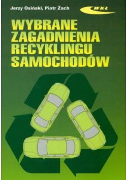 Wybrane zagadnienia recyklingu samochodów