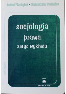 Socjologia prawa zarys wykładu
