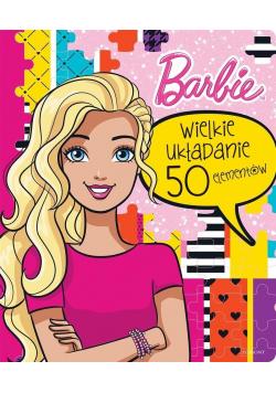 Barbie Wielkie układanie 50 elementów