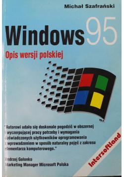 Windows 95 Opis wersji polskiej