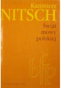 Świat mowy polskiej