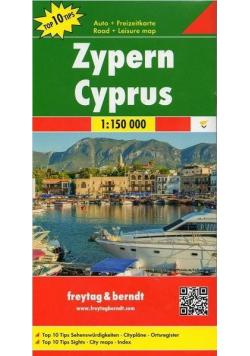 Mapa samochodowa - Cypr 1:150 000