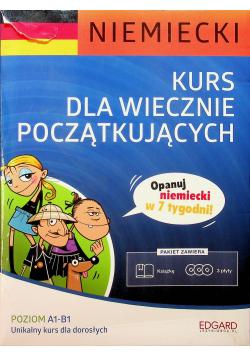 Niemiecki Kurs dla wiecznie początkujących + 3 płyty CD