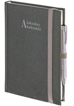 Kalendarz akademicki A5 2021/2022 Cross srebrny