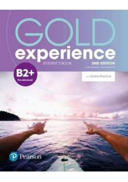 Gold Experience 2ed B2+ SB + online practice
