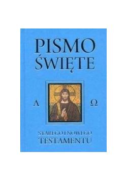 Pismo Święte ST i NT niebieskie - skorowidz