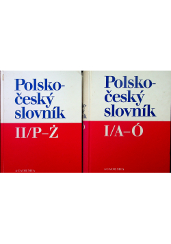 Polsko cesky slovnik tomy od I do II