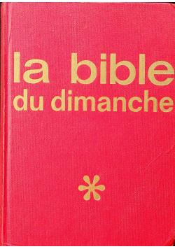 La Bible du Dimanche