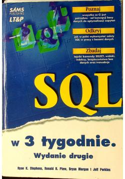 SQL w 3 tygodnie